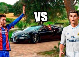 coches de Cristiano Ronaldo