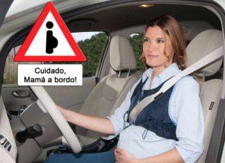conducir si estás embarazada