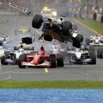 los accidentes de F1