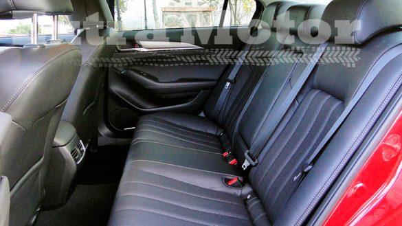 Prueba Mazda6 2018, asientos traseros