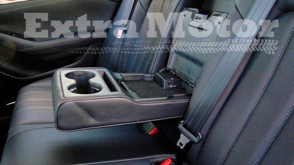 Prueba Mazda6 2018, reposabrazos trasero