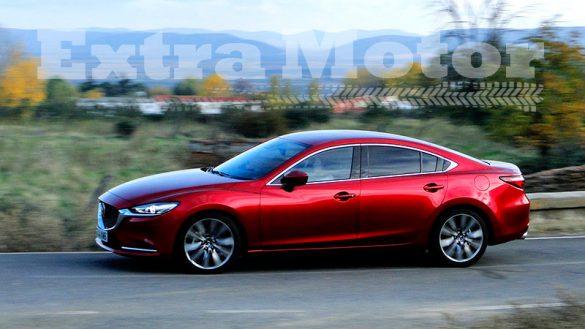 Prueba Mazda6 2018, lateral