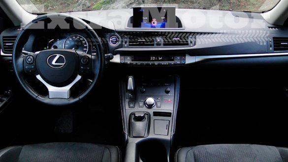 Prueba Lexus CT 200h, habitáculo