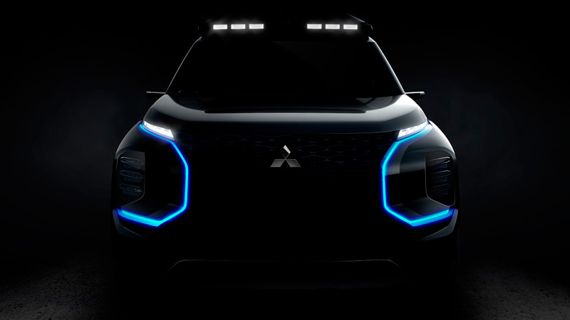 Mitsubishi Engelberg Tourer, teaser