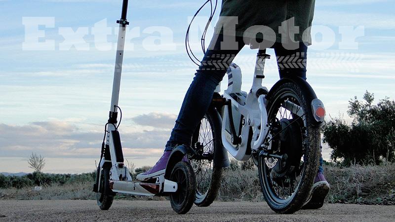 Patinete eléctrico vs. bici eléctrica
