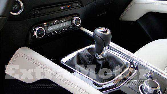 Prueba Mazda CX-5, consola central