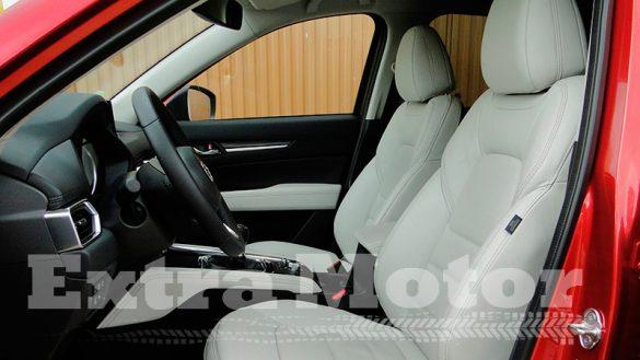 Prueba Mazda CX-5, asientos delanteros