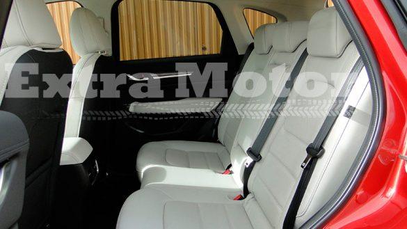 Prueba Mazda CX-5, asientos traseros