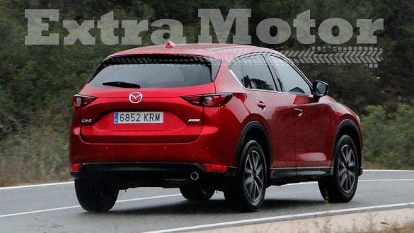 Prueba Mazda CX-5, tres cuartos trasero