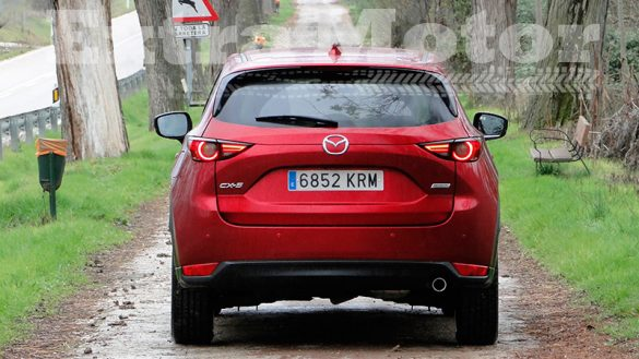 Prueba Mazda CX-5, trasera