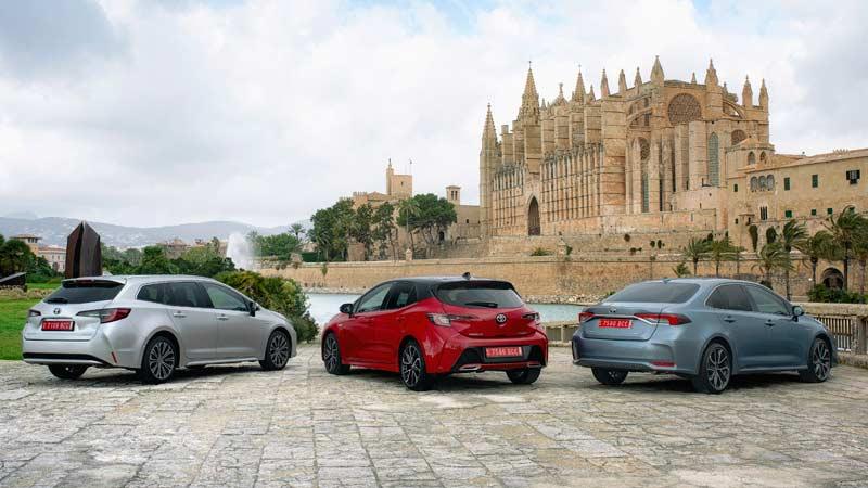 Toyota Corolla 2019, carrocerías