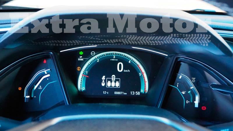 Prueba Honda Civic diésel, relojes