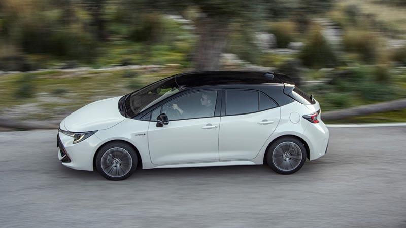 Toyota Corolla 2019, 5 puertas, lateral