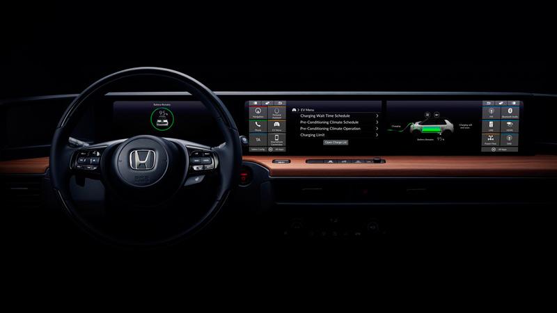 Honda Urban EV, interior