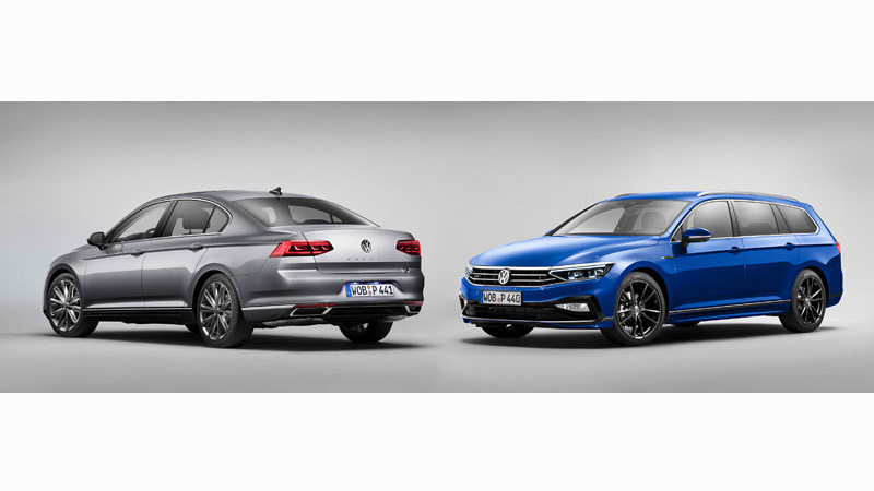 Volkswagen Passat 2019, berlina y familiar
