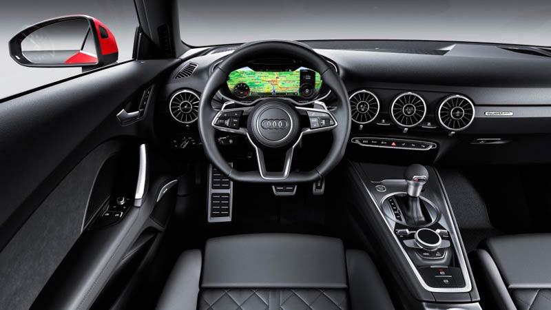 Audi TT 2019, interior