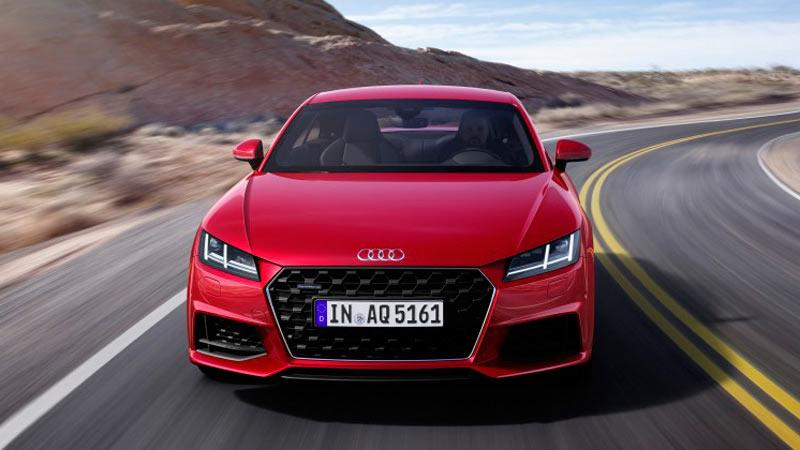 Audi TT 2019, frontal