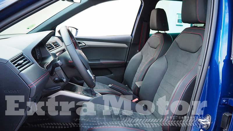 Prueba Seat Arona, Extramotor, asientos delanteros