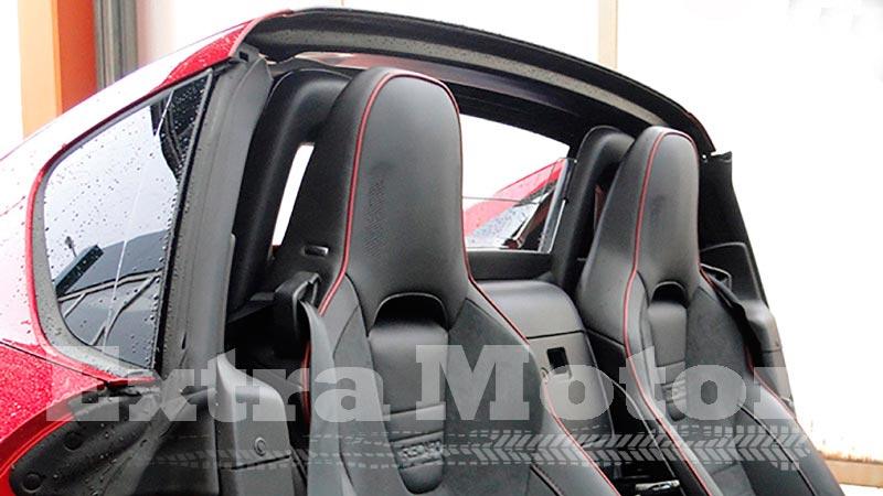 Prueba Mazda MX-5 2018, deflector