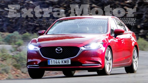Prueba Mazda6 2018, tres cuartos delantero