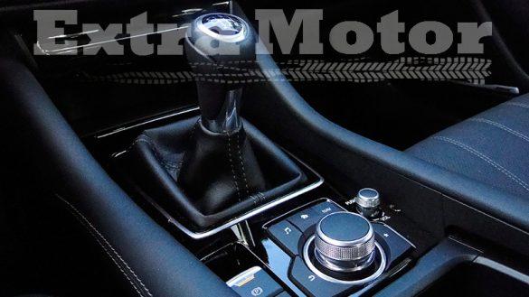 Prueba Mazda6 2018, detalle ruleta