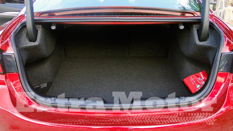 Prueba Mazda6 2018, maletero capacidad
