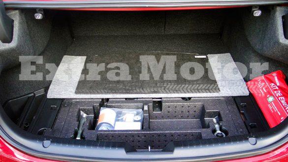 Prueba Mazda6 2018, maletero