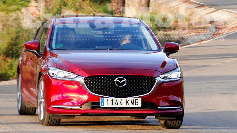 Prueba Mazda6 2018, dinámica