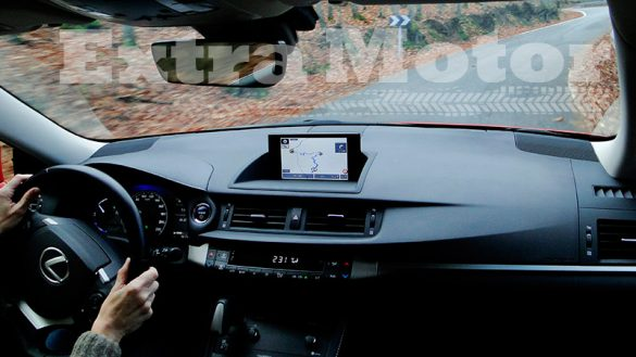 Prueba Lexus CT 200h, pantalla central