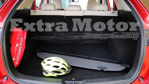 Prueba Mazda CX-5, maletero