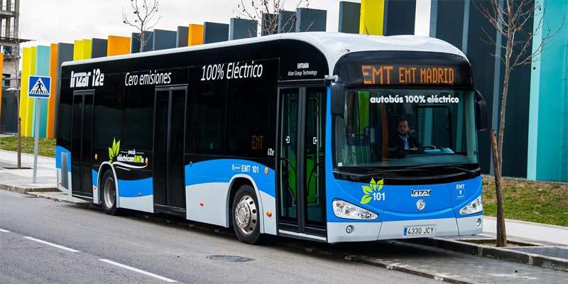 Autobús de EMT de Madrid